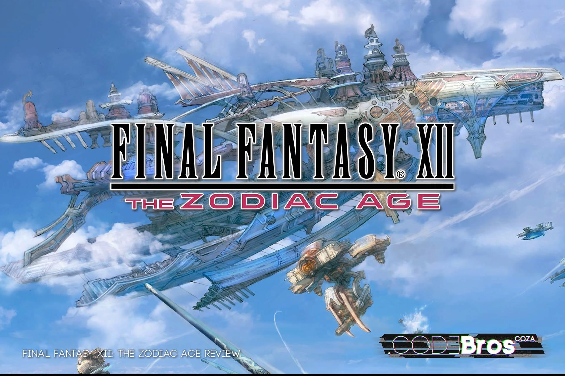 Book Cover Fantasy Zodiac : Final fantasy xii the zodiac age review codebros