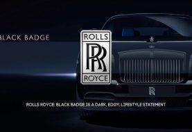 Rolls Royce: Black Badge is a Dark, Edgy, Lifestyle Statement
