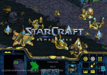 Blizzard Entertainment Announces StarCraft: Remastered