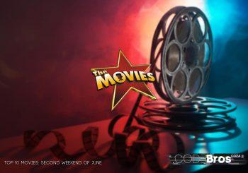 Top 10 Movies: Second Weekend of June